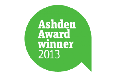 Ashden award winner