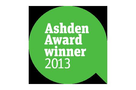 Ashden award winner
