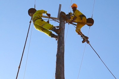 Fixing powerlines
