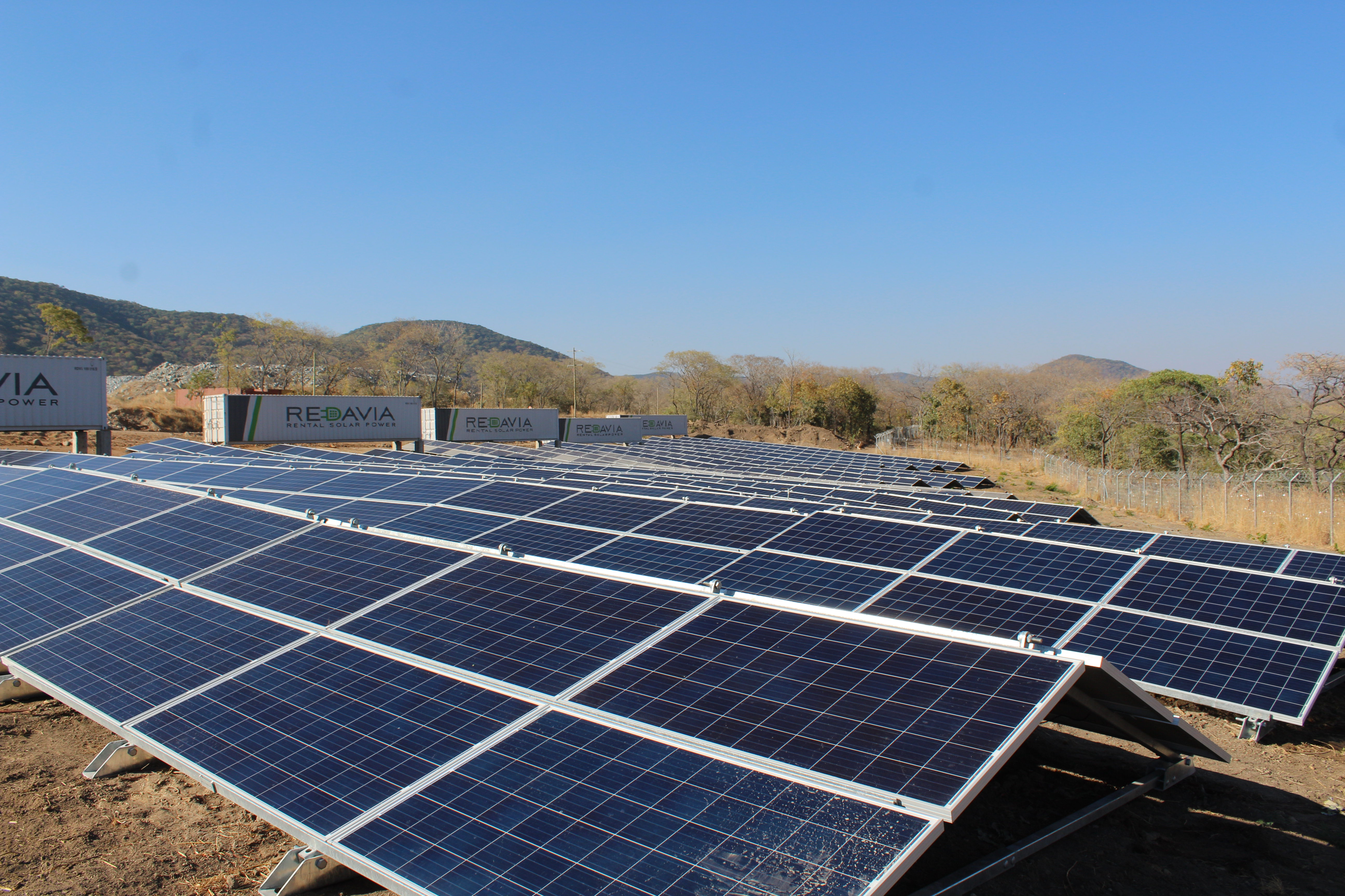 Redavia commissioned tanzania s largest solar farm for for Solar ranch